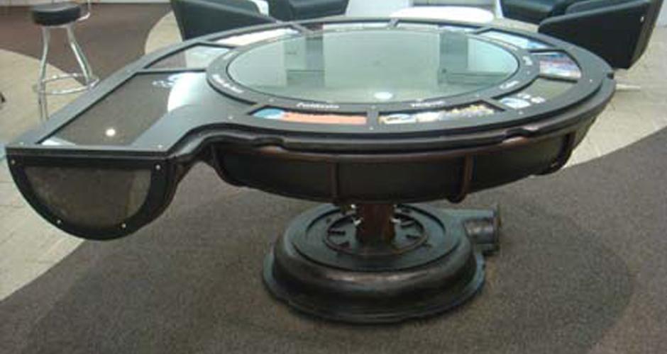 mesa de minérios